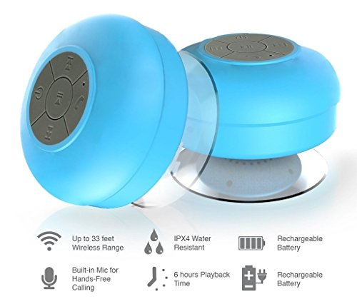Portable Bluetooth Speakers Waterproof Bathroom Speakers