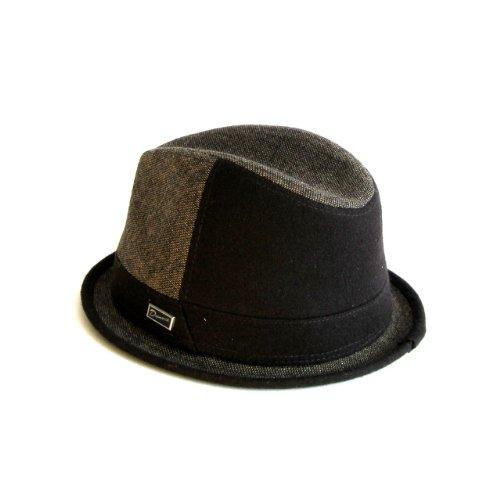 Dasmarca-collection hiver-chapeau de tweed-Harold Marron