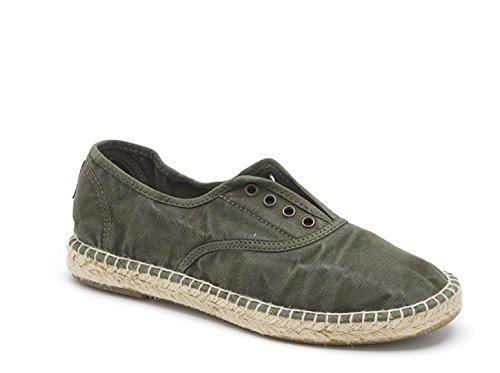 Natural World Eco – Chaussures VEGAN Espadrilles en Jute Tennis Tendance en Tissu pour femmes – Mode – NOUVEAUTÉ 622