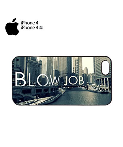 Chicago Blow Job Funny Mobile Phone Case Cover iPhone 6 Plus + Black Noir