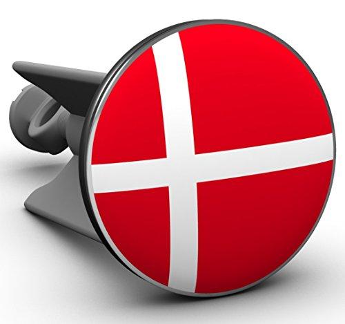 Plopp Waschbeckenstöpsel Dänemark, Stöpsel, Excenter Stopfen, für Waschbecken, Waschtisch, Abfluss