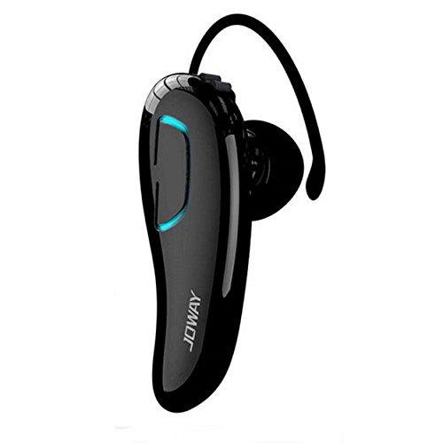 Universal Bluetooth Headset 4.0 Zweiohr In Ear Stereo Funkkopfhörer (112±3dB) - austauschbarer Ohrbügel - Klavierlackoptik - Multipoint (Schwarz) Universal Bluetooth Stereo
