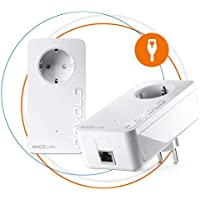 Devolo Magic 1 LAN: Powerline-Starterkit für zuverlässiges Heimnetzwerk einfach durch Wände und Decken hindurch über die Stromleitung bis 1200 Mbit/s, innovative G.hn-Technologie