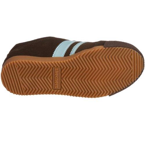 Skechers 99949L CHBL Memos Remark 2, Baskets mode fille Marron-TR-SW985