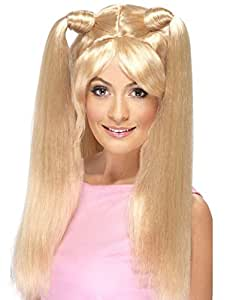 Ladies 1990s Posh Ginger Baby Scary Sporty Spice Girls Wig Fancy Dress Costume Outfit Accessory (Baby)
