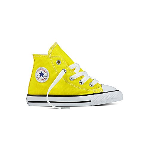 Converse–Chaussures CONVERSE All Star Ct As Hi Canvas jaunes P/et 2017755738C–305511 FRESH YELLOW