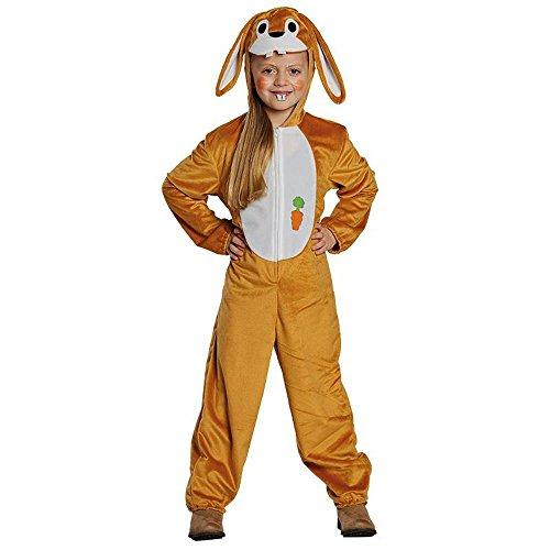 Kinder Kostüm Hase Hasenkostüm Kaninchen Overall Karnval Fasching Gr.116 (Kaninchen Kostüm Für Kinder)