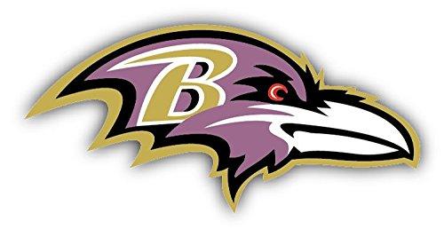 Baltimore Ravens NFL Football Hochwertigen Auto-Autoaufkleber 15 x 8 cm (Baltimore Ravens-aufkleber)