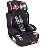 Piku 6254Disney Cars Racer Child Car Seat Groups 1/2/3, 9–36kg, Black