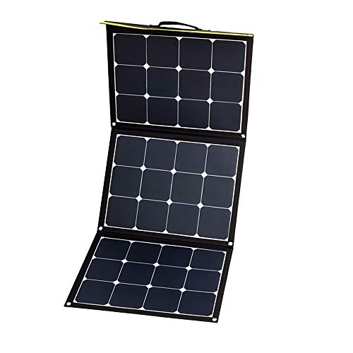 WATTSTUNDE SunFolder faltbare Solartasche - Mobiles 12V Outdoor Solarpanel ohne Laderegler (120W)