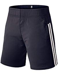64b487e191 Pantalones Cortos Deportivos Moda Raya de Hombre Gusspower pantalón de  Fitness Secado Rápido Bolsillo Transpirable para