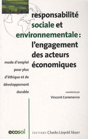 Responsabilité sociale et environnementale : l&#3...