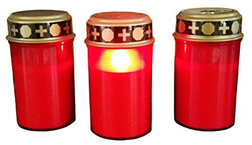 ht mit Flackerlicht , Kerze für Grab-Beleuchtung ()