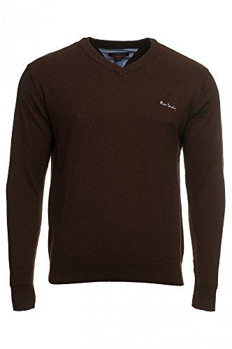 pierre-cardin-jersei-para-hombre-marron-l