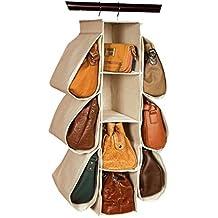 GYMNLJY Griglia a muro porta armadio appeso Storage Bag Non tessuto tessuto deposito borse 10 Storage bag abbigliamento e appeso organizzatore del pattino