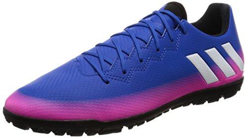 adidas Messi 16.3 Tf, Chaussures de Football Homme Bleu (Blue/ftwr White/solar Orange)