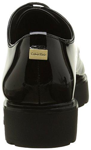 Calvin Klein Victorina, Derby Femme Noir (Blk)