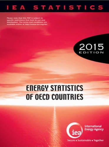 Energy statistics of OECD countries 2015 par International Energy Agency