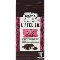 NESTLÉ Les Recettes de LAtelier Chocolate Negro 78% Cacao Tableta - Paquete 16