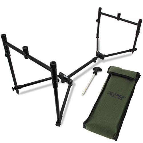g8ds® Rod Pod XPR inkl. Tasche Bivy Peg Klein Kompakt Leicht Angeln Karpfen Rutenständer Ablage