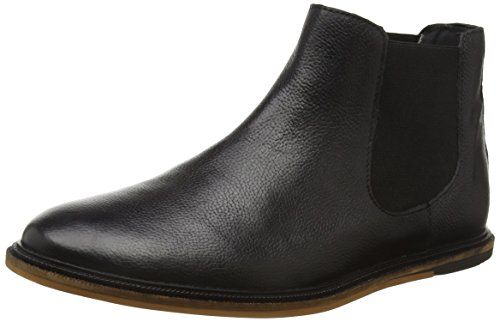 Frank Wright Vogts, Stivaletti Uomo, Nero (Nero (Black Leather)), 42 EU