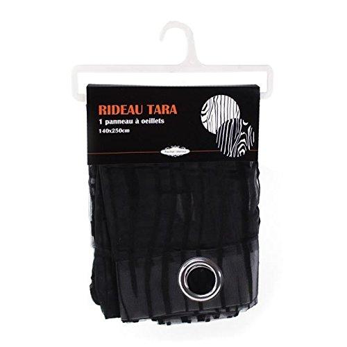 bandiera-dinterieur-tenda-con-1-tenda-a-occhielli-tara-140-x-250-cm-colore-nero