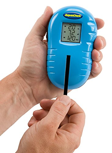 AquaChek – TruTest Tester Digitales Chlormessgerät Chlor mit 25 Teststreifen 2067