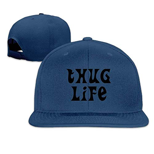 Unisex Baseball Cap Thug Life Mesh Hat