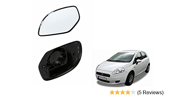 FBA-Speedwav Car Rear View Side Right Mirror Glass for Fiat Punto