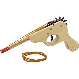 Pistola ad Elastici in Legno