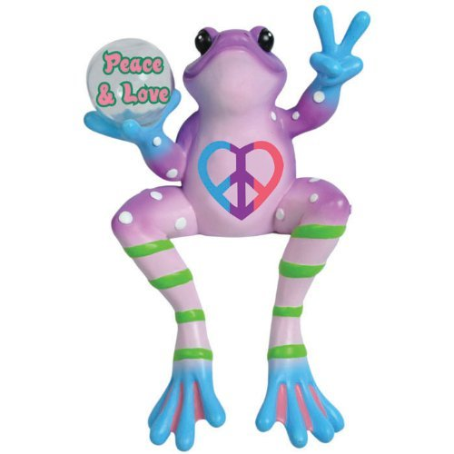 westland-giftware-peace-frogs-resin-figurine-peace-and-love-frog-shelf-sitter-6-inch-by-westland-gif