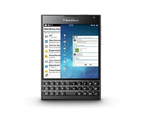Blackberry Passport azerty Smartphone débloqué 4G (Ecran : 4,5 pouces 32 Go Simple SIM Blackberry)