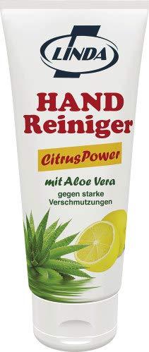 3x Linda Handreiniger Citrus Power mit Aloe Vera 200ml