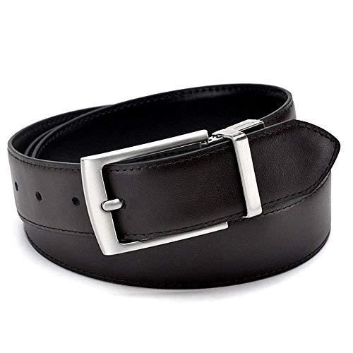 aoliaoyudonggha Reversible Buckle Belt Designer Belts Men Genuine Leather Luxury Strap Male Belts -