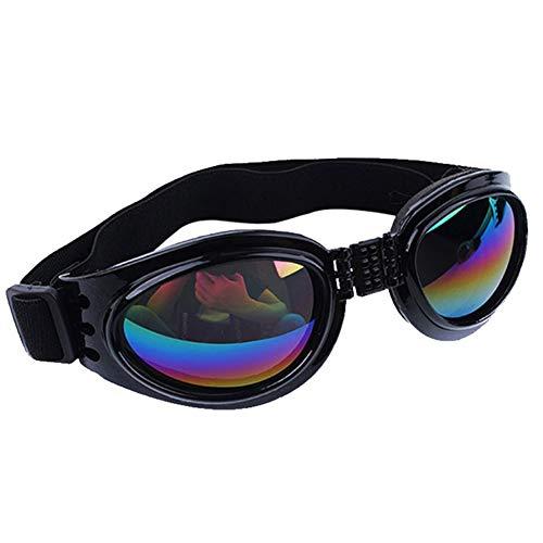 Xiton Mode Stil Haustier Sonnenbrillen, Windschutzscheibe Schutzbrillen, Anti-UV-Brille für pet schwarz (groß)