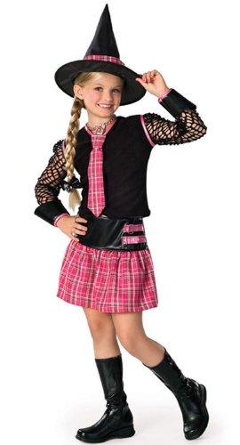 Halloween Kostüm Hexe Hexenkostüm USA-Style, Gr. S (Clever Kinder Halloween Kostüme)
