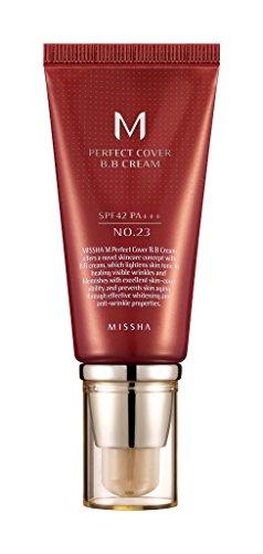 MISSHA M Perfect Cover BB Cream SPF42/PA+++ (No.23/Natural Beige) 50ml, 1er Pack