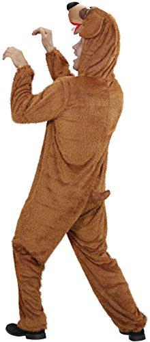 Widmann 9276C - Erwachsenenkostüm Hund, Overall mit Maske -