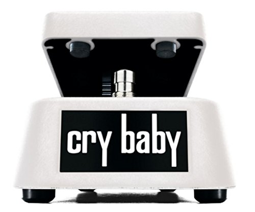 PEDALES EFECTO CRYBABY   DUNLOP (GCB 95 WHITE) WAH