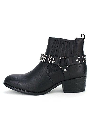 COWLYNS Chaussures Femme Noire Sens Bottine Noir Sixth Cendriyon 5gxIwXqYq