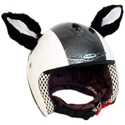 Animal Ears Calvin el Gato. Adherido al Casco de Deporte. Accesorio