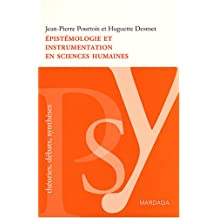 Epistémologie et instrumentation en sciences humaines