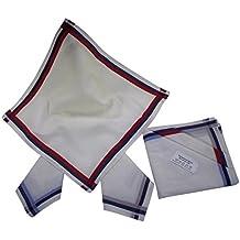 6 Herren Stoff-Taschentücher in unterschiedlichen wählbaren Designs, 40 cm x 40 cm