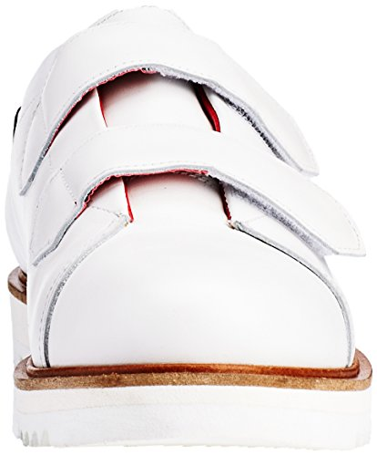 Liebeskind Berlin Ls0115 Calf, Baskets Basses Femme Blanc - Weiß (porcelain white 0735)