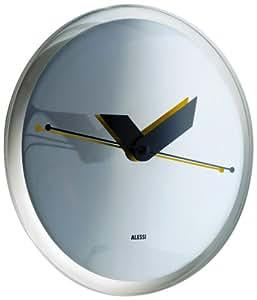 A di Alessi Sole Pendule murale en résine thermoplastique décoration mirror