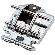 Alfa Prensatelas cremalleras invisibles, accesorio para máquina de coser, acero inoxidable