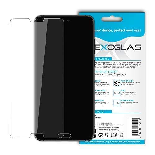 Flexoglas für Huawei P20 Pro Bildschirmschutzfolie mit Blaulichtfilter Panzerglasfolie FlexibleTransparente Schutzfolie Resistent wie Gehärtetes Glas Anti-Schock Anti-Kratz