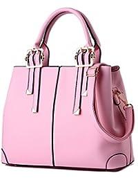 XWB Fashion Vintage Pu Leather Women Top Handle Handbag Purse Satchel Shoulder Bag