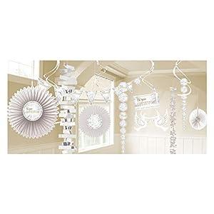 Amscan International Amscan 9904540 - Kit de decoración para habitación (18 unidades)