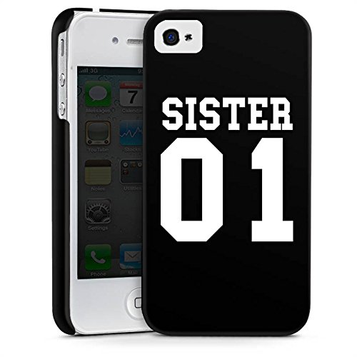 Apple iPhone 6s Hülle Case Handyhülle Schwester Best Friend bff Premium Case glänzend